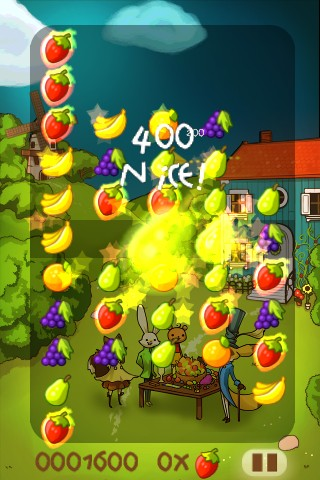 Fruit Frenzy Arcade Mode